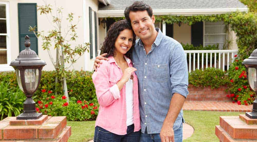 buyers buying a home